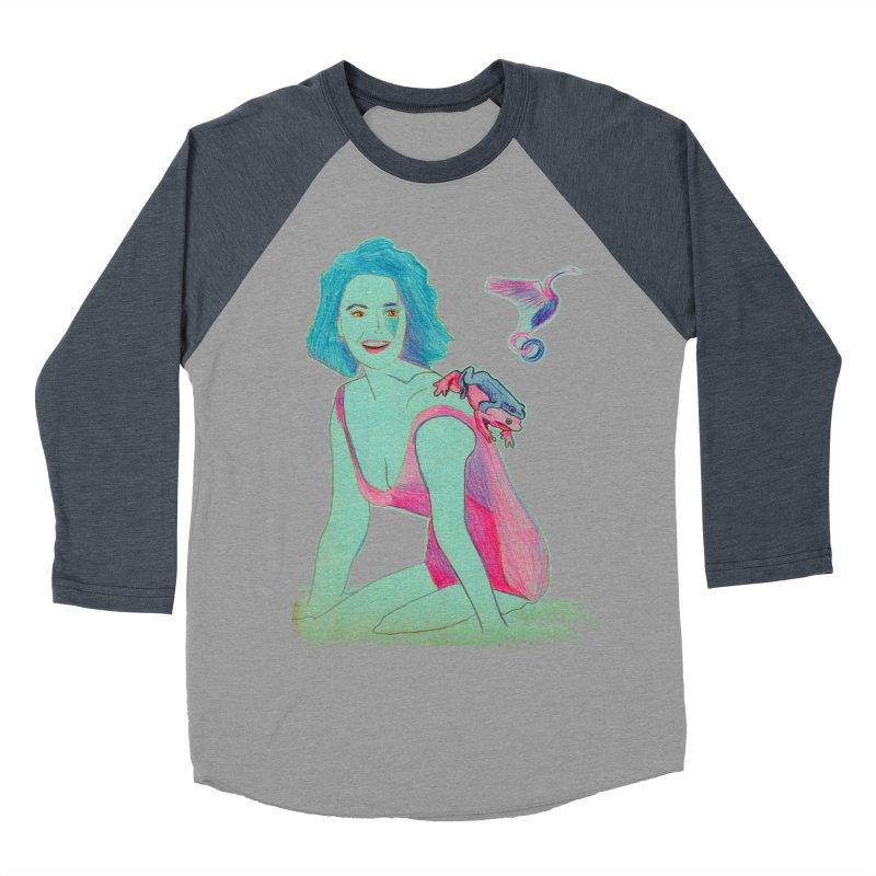 Liz y los sapos Men's Baseball Triblend T-Shirt by mymadtshirt's Artist Shop