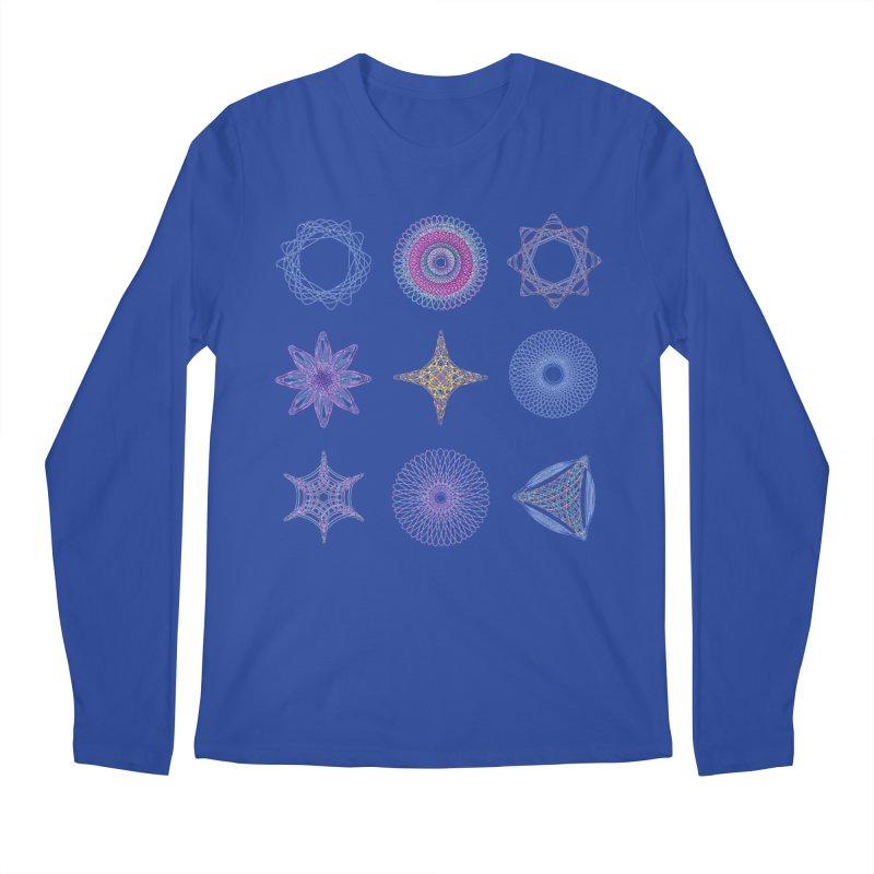 Spirograph Men's Longsleeve T-Shirt by mymadtshirt's Artist Shop