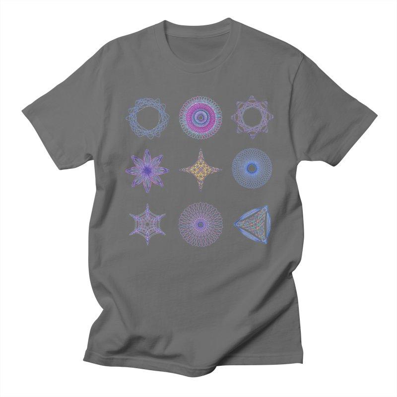 Spirograph Men's T-Shirt by mymadtshirt's Artist Shop