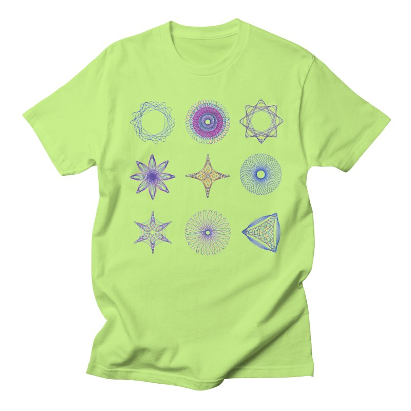 Spirograph Men's T-shirt by mymadtshirt's Artist Shop