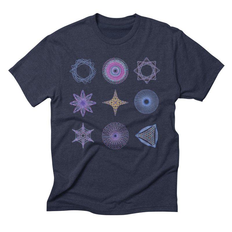 Spirograph Men's Triblend T-shirt by mymadtshirt's Artist Shop