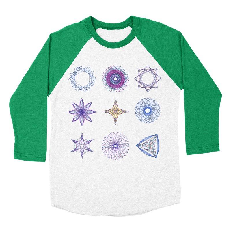 Spirograph Women's Baseball Triblend T-Shirt by mymadtshirt's Artist Shop