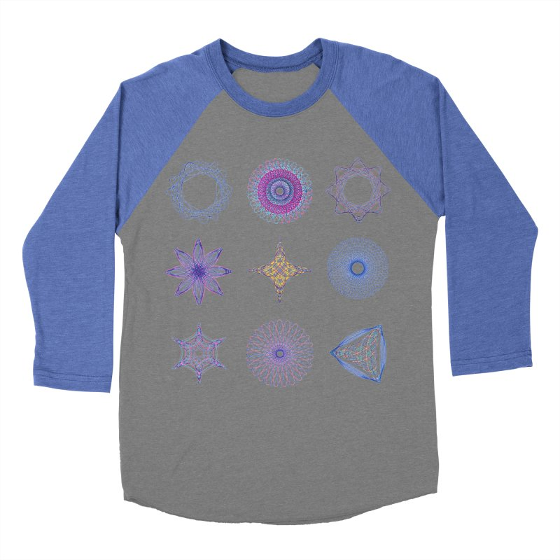 Spirograph Women's Baseball Triblend T-Shirt by mymadtshirt's Artist Shop