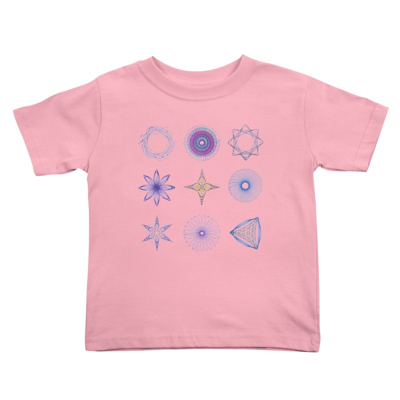 Spirograph Kids Toddler T-Shirt by mymadtshirt's Artist Shop