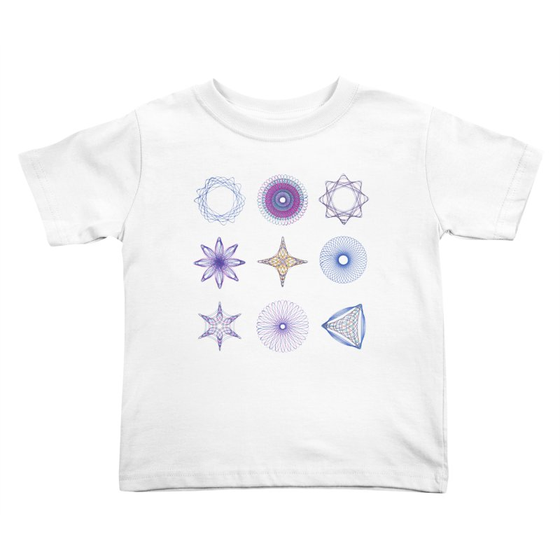 Spirograph Kids Toddler T-Shirt by mymadtshirt's Artist Shop