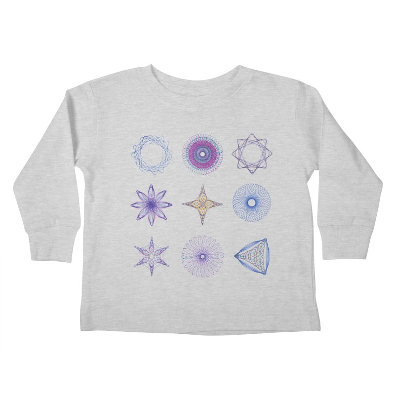 Spirograph Kids Toddler Longsleeve T-Shirt by mymadtshirt's Artist Shop