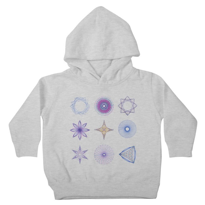 Spirograph Kids Toddler Pullover Hoody by mymadtshirt's Artist Shop