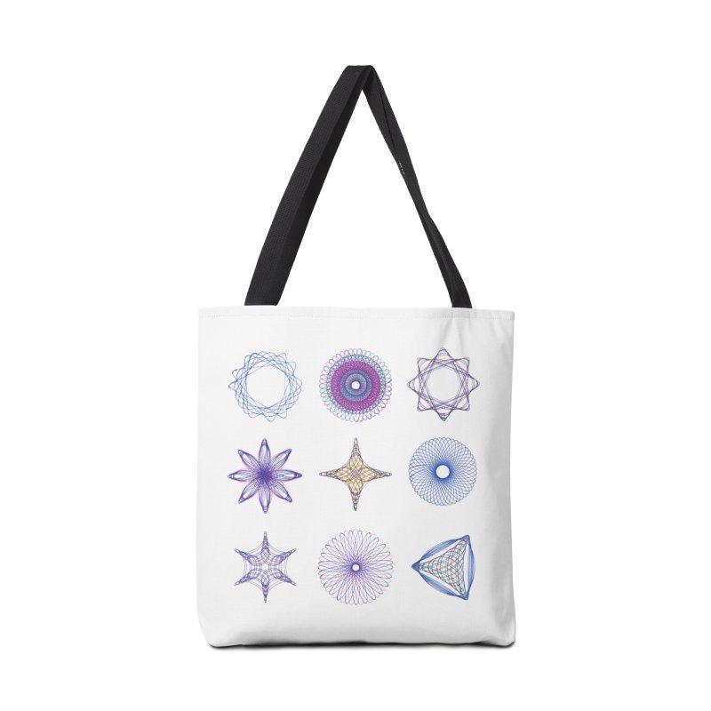Spirograph Accessories Bag by mymadtshirt's Artist Shop