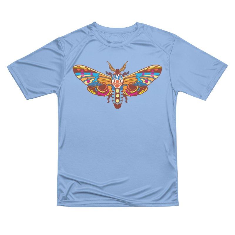 Clown Moth Women's Performance Unisex T-Shirt by My Metal Hand Artist Shop