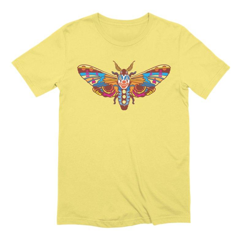 Clown Moth Men's Extra Soft T-Shirt by My Metal Hand Artist Shop