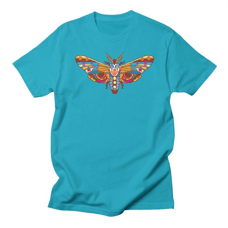 Clown Moth Men's Regular T-Shirt by My Metal Hand Artist Shop