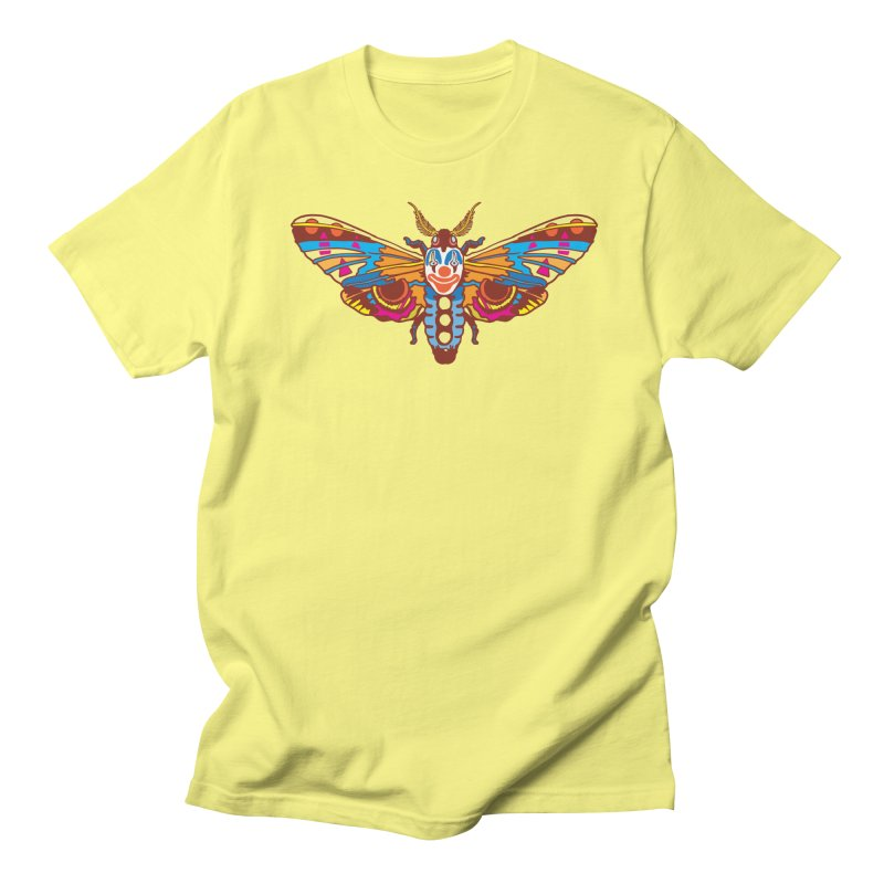 Clown Moth Men's T-Shirt by My Metal Hand Artist Shop
