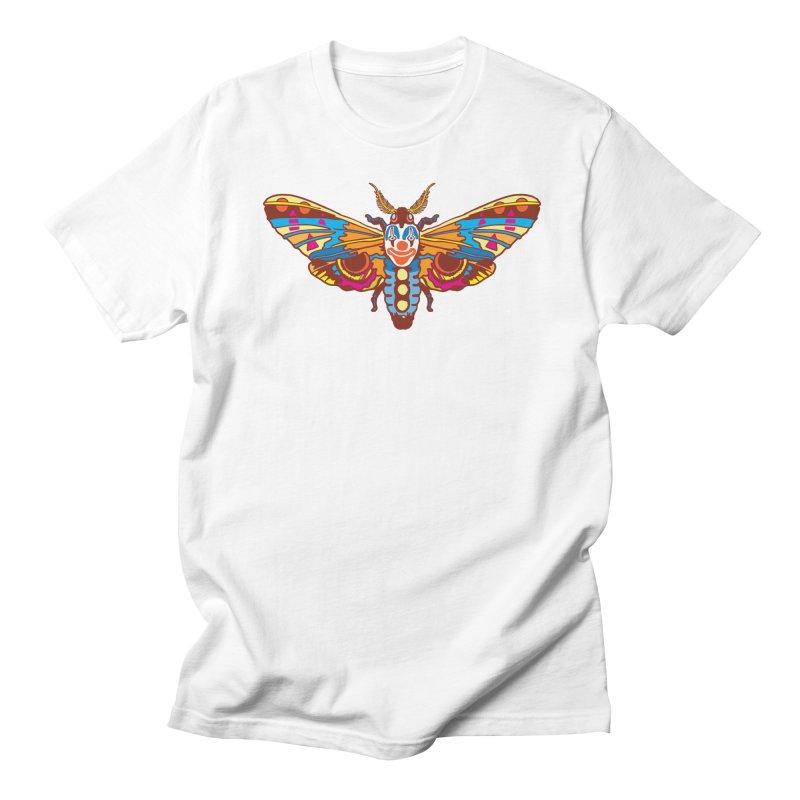 Clown Moth Women's Regular Unisex T-Shirt by My Metal Hand Artist Shop