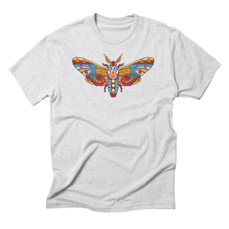 Clown Moth Men's Triblend T-Shirt by My Metal Hand Artist Shop