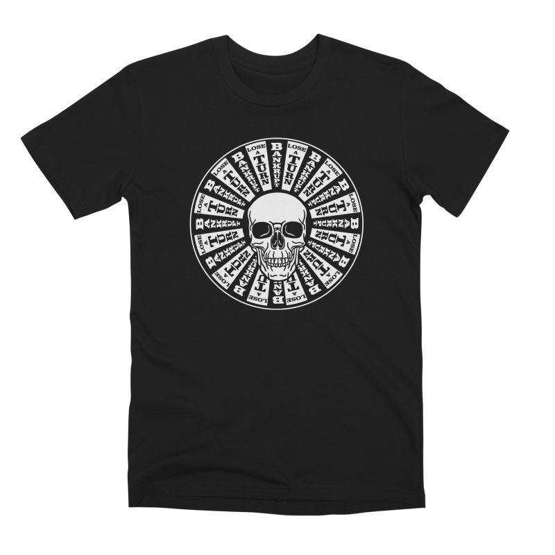 Skull of Fortune Men's Premium T-Shirt by My Metal Hand Artist Shop