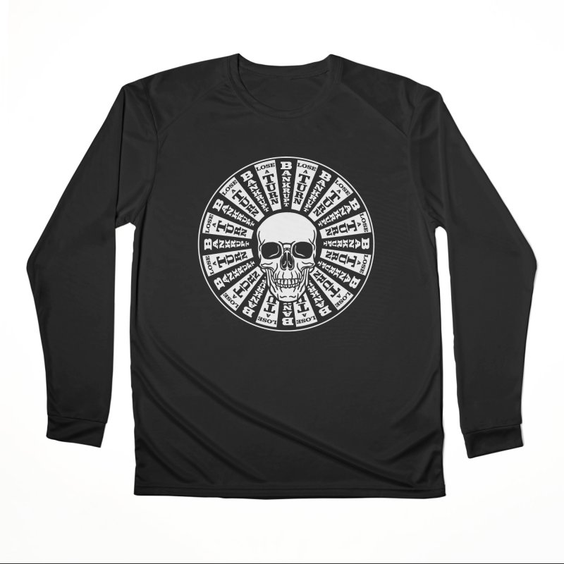 Skull of Fortune Women's Performance Unisex Longsleeve T-Shirt by My Metal Hand Artist Shop