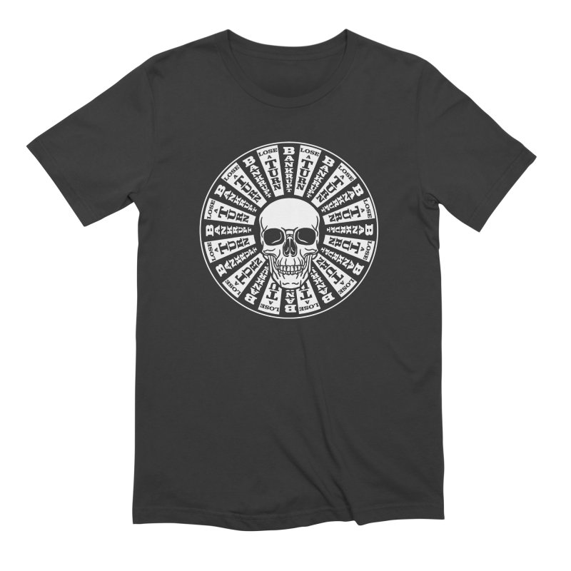 Skull of Fortune Men's T-Shirt by My Metal Hand Artist Shop