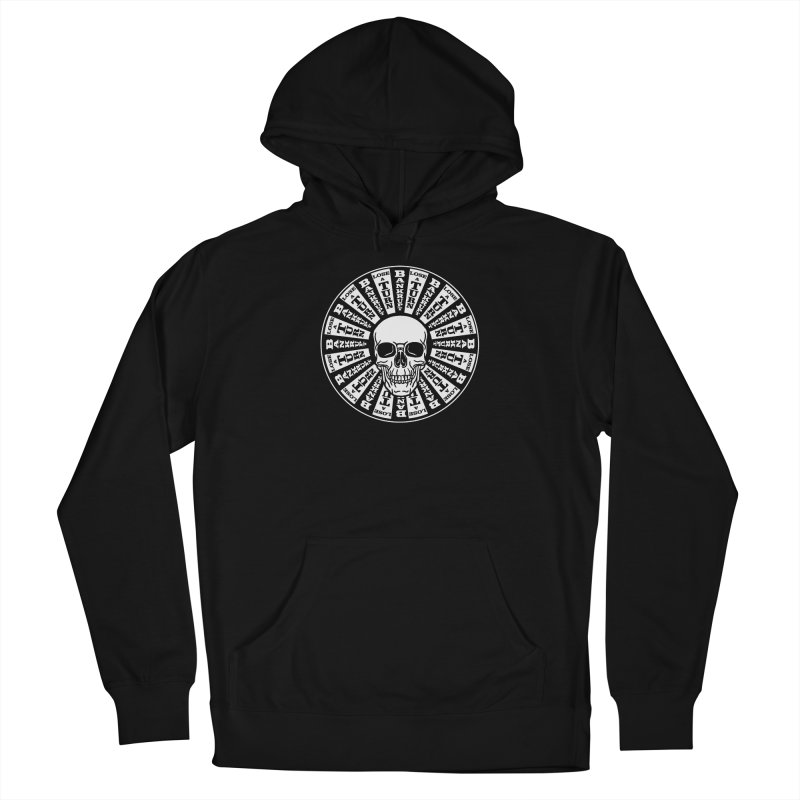 Skull of Fortune Men's French Terry Pullover Hoody by My Metal Hand Artist Shop