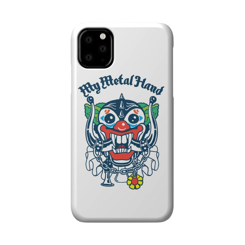 Clownish Head MMH Accessories Phone Case by My Metal Hand Artist Shop