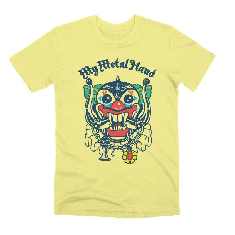 Clownish Head MMH Men's Premium T-Shirt by My Metal Hand Artist Shop