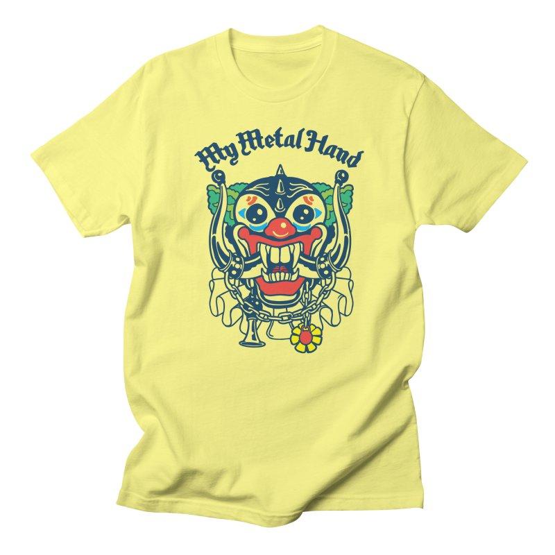 Clownish Head MMH Men's T-Shirt by My Metal Hand Artist Shop