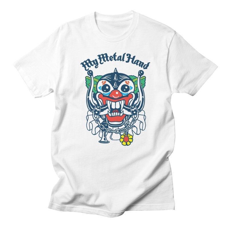 Clownish Head MMH Women's Regular Unisex T-Shirt by My Metal Hand Artist Shop
