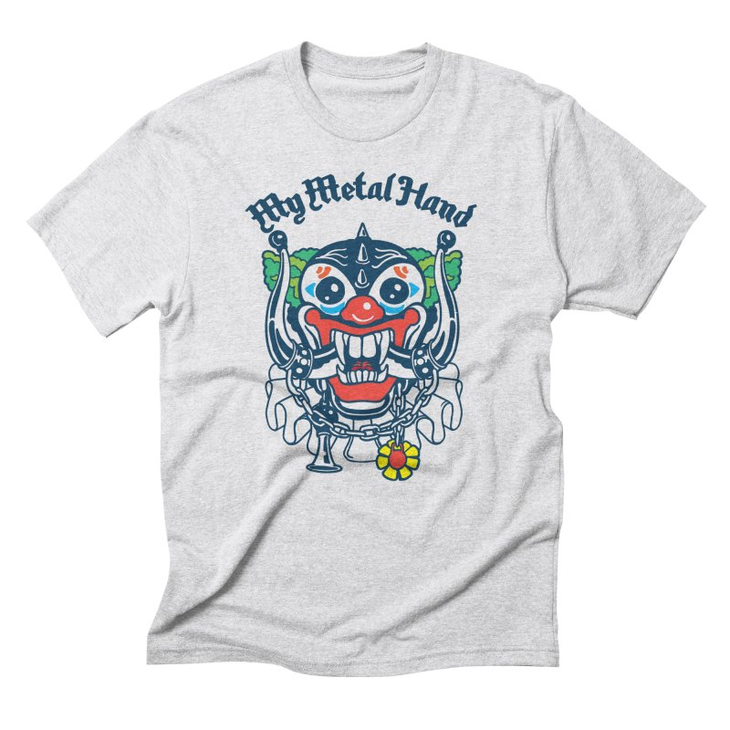Clownish Head MMH Men's Triblend T-Shirt by My Metal Hand Artist Shop