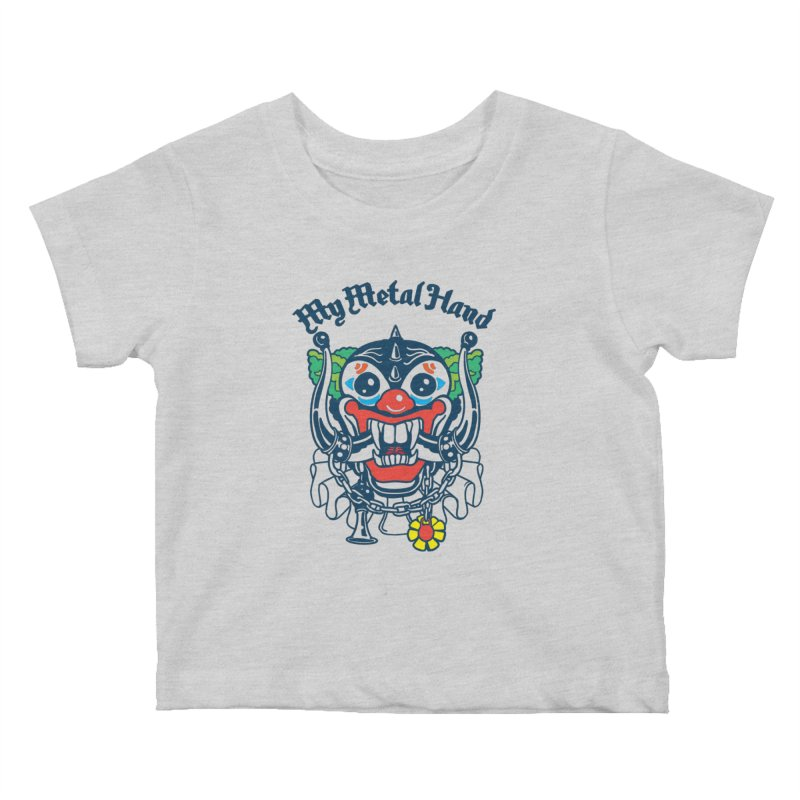 Clownish Head MMH Kids Baby T-Shirt by My Metal Hand Artist Shop