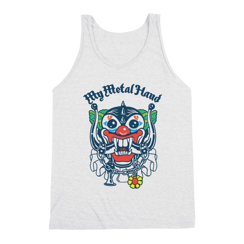Clownish Head MMH Men's Triblend Tank by My Metal Hand Artist Shop