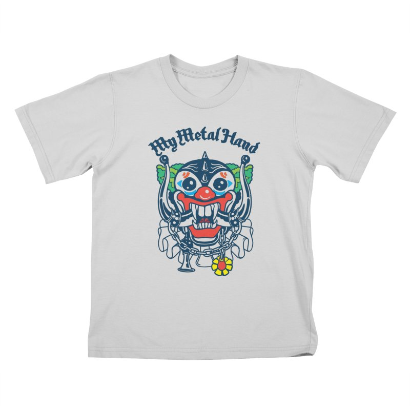 Clownish Head MMH Kids T-Shirt by My Metal Hand Artist Shop