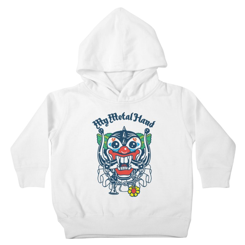 Clownish Head MMH Kids Toddler Pullover Hoody by My Metal Hand Artist Shop