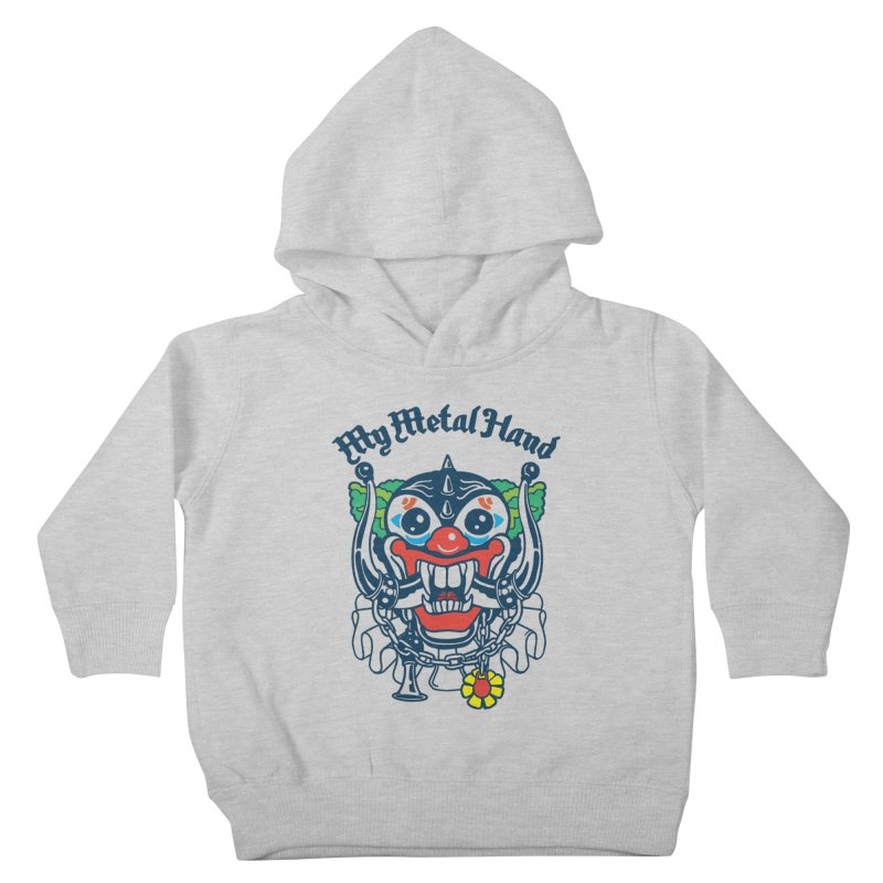 Clownish Head MMH Kids Toddler Pullover Hoody by My Metal Hand Artist Shop