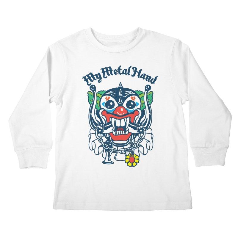 Clownish Head MMH Kids Longsleeve T-Shirt by My Metal Hand Artist Shop