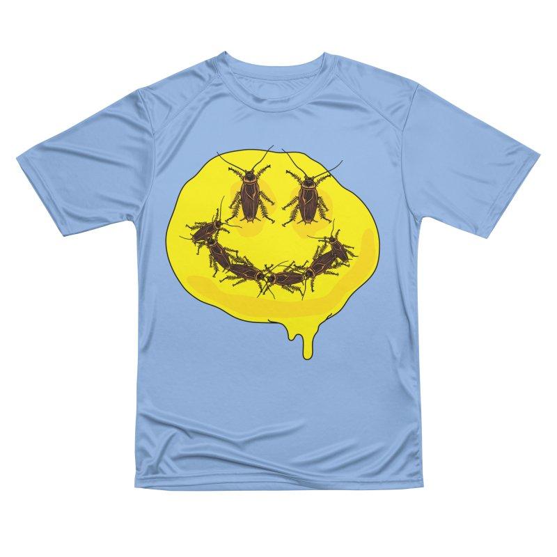 Roach Face Women's Performance Unisex T-Shirt by My Metal Hand Artist Shop