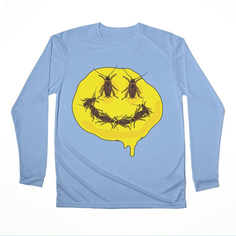 Roach Face Women's Performance Unisex Longsleeve T-Shirt by My Metal Hand Artist Shop