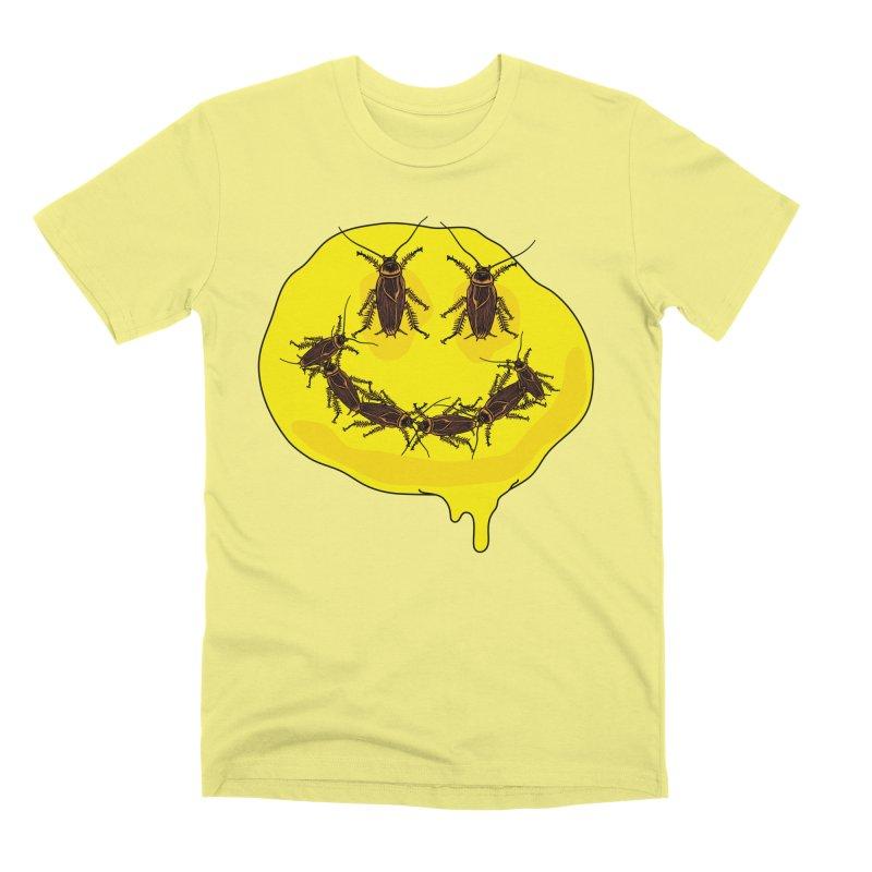 Roach Face Men's Premium T-Shirt by My Metal Hand Artist Shop