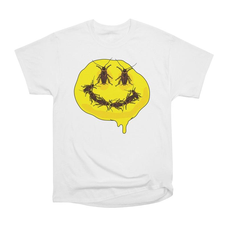 Roach Face Women's Heavyweight Unisex T-Shirt by My Metal Hand Artist Shop