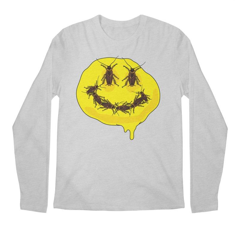 Roach Face Men's Regular Longsleeve T-Shirt by My Metal Hand Artist Shop
