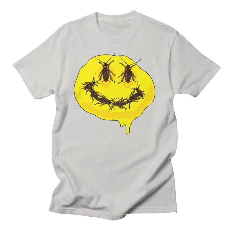 Roach Face Men's T-Shirt by My Metal Hand Artist Shop