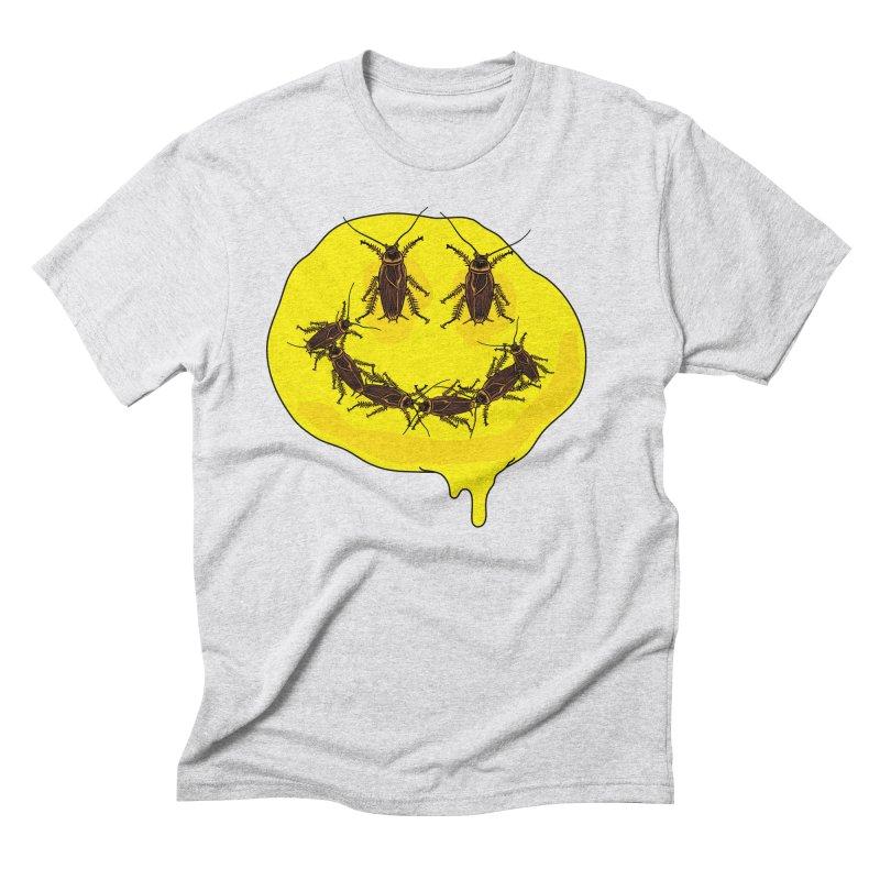 Roach Face Men's Triblend T-Shirt by My Metal Hand Artist Shop