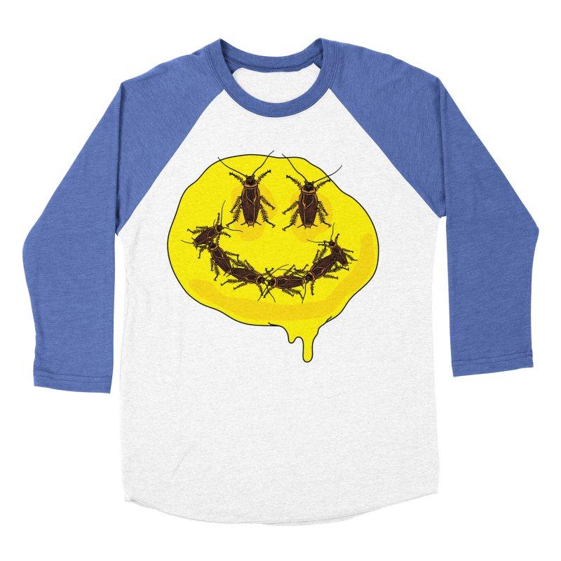 Roach Face Men's Baseball Triblend Longsleeve T-Shirt by My Metal Hand Artist Shop
