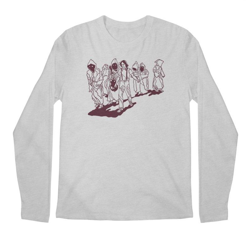 Rust Lines Forever Men's Regular Longsleeve T-Shirt by My Metal Hand Artist Shop