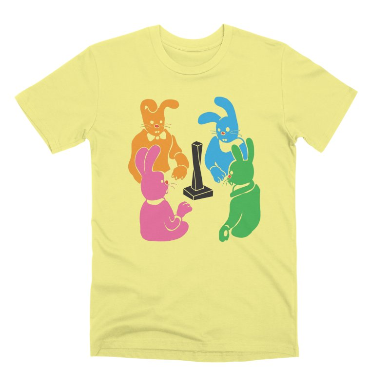 Bunny Presents Men's Premium T-Shirt by My Metal Hand Artist Shop