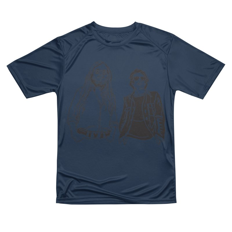 Donald and Walter Women's Performance Unisex T-Shirt by My Metal Hand Artist Shop