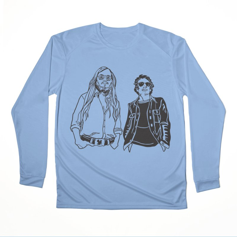Donald and Walter Women's Performance Unisex Longsleeve T-Shirt by My Metal Hand Artist Shop