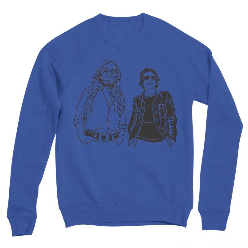 Donald and Walter Women's Sponge Fleece Sweatshirt by My Metal Hand Artist Shop