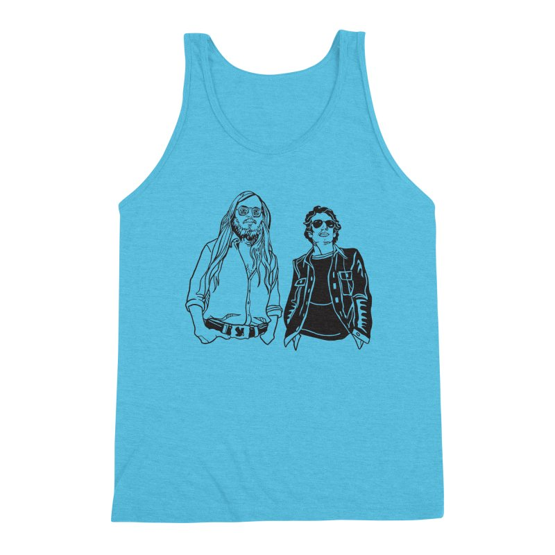 Donald and Walter Men's Triblend Tank by My Metal Hand Artist Shop