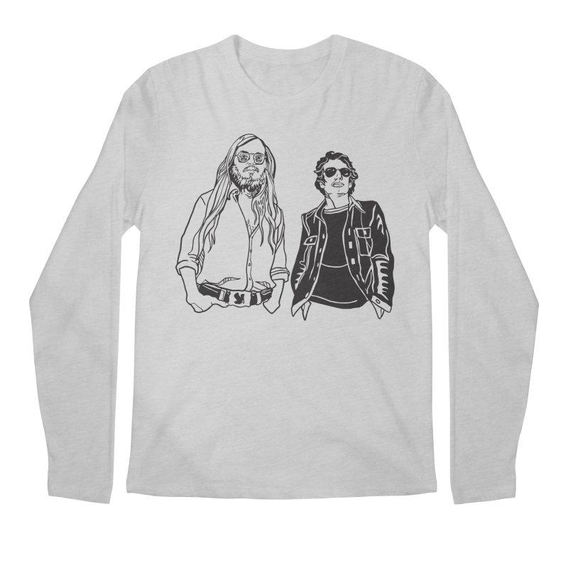 Donald and Walter Men's Regular Longsleeve T-Shirt by My Metal Hand Artist Shop