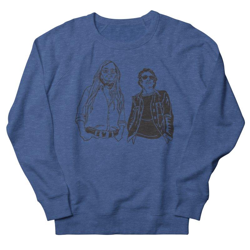Donald and Walter Men's Sweatshirt by My Metal Hand Artist Shop