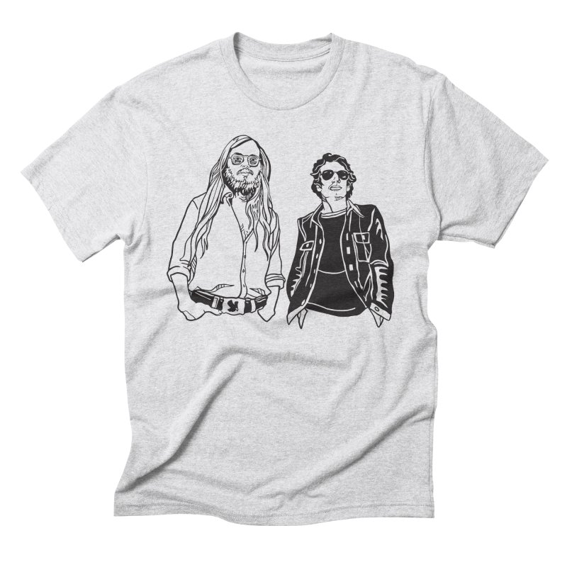 Donald and Walter Men's Triblend T-Shirt by My Metal Hand Artist Shop